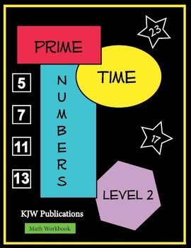 Prime Time Numbers - Level 2  - Digital Download - 2nd  Grade Math Workbook