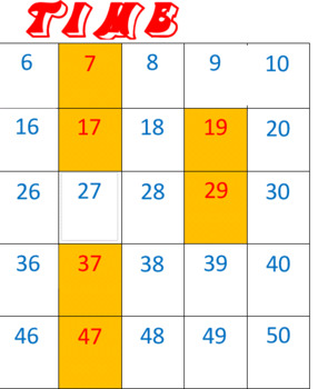 Prime Time -- Prime & Composite Numbers Game