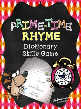 Rhyme Time: Dictionary Skills Game