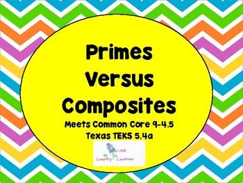 Prime Versus Composite:  Find that Prime!!!