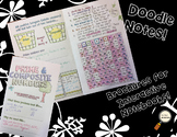Prime and Composite - Decorated Notes Brochure for Interactive Notebooks