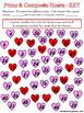 Prime and Composite Hearts