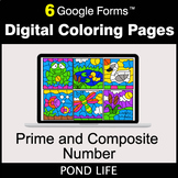 Prime and Composite Number - Google Forms | Digital Colori