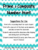 Prime and Composite Number Hunt