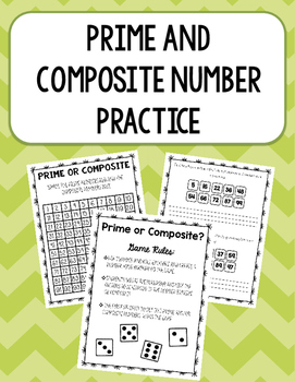 Prime and Composite Number Practice