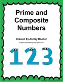 Prime and Composite Numbers
