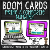 Prime and Composite Numbers BOOM Cards™
