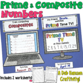 Prime and Composite Numbers Craftivity
