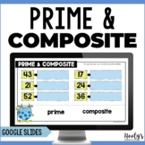Prime and Composite Numbers Using Google Slides