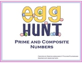 Prime and Composite Numbers Egg Hunt