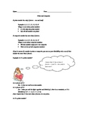 Prime and Composite Numbers Guided Practice Handout