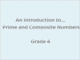 Prime and Composite Numbers Lesson/Activity