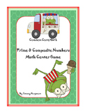 Prime and Composite Numbers Math Game (with & without QR codes)