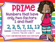 Prime and Composite Numbers Posters FREEBIE Cute Colorful Kids  Theme