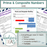 Prime and Composite Numbers Unit