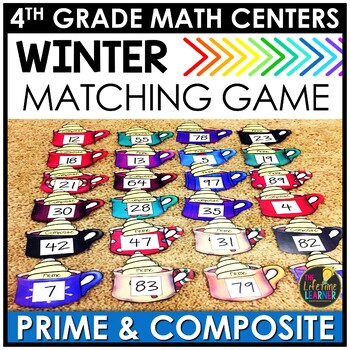 Winter Prime and Composite Numbers Game