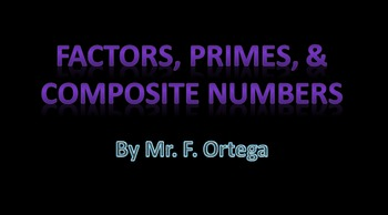 Prime and Composite Powerpoint
