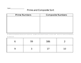 Prime and Composite Sort