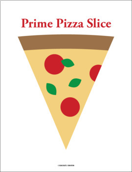 Prime and Composite Sort - Pizza Activity