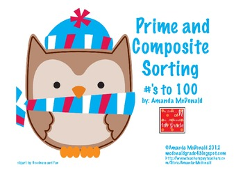 Prime and Composite Sorting Game