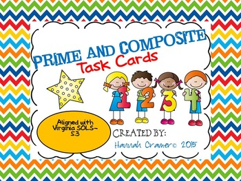 Prime and Composite Task Cards