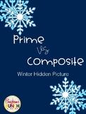 Prime and Composite Winter Hidden Picture