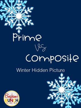 Prime and Composite Winter Hidden Picture