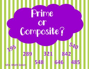 Prime or Composite