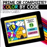 Prime or Composite Digital Coloring BOOM Cards™