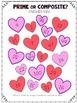 Prime or Composite Valentine's Coloring Activity