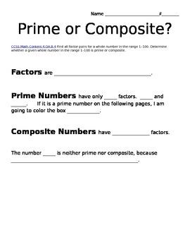 Prime or Composte