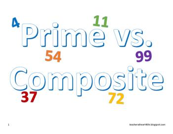 Prime vs Composite