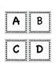 Primer Black and White Stars Word Wall Set