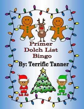 Primer Dolch Christmas Bingo