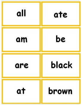 Primer Dolch Sight Word Flash Cards with Data Tracking Options - RF.K.3