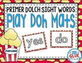Play Doh Mats: Primer Dolch {Popcorn}