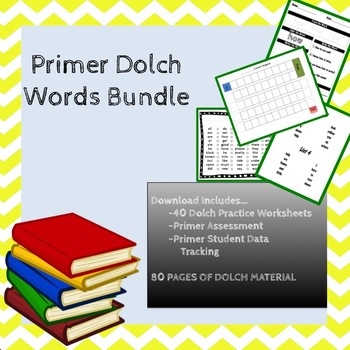 Primer Dolch Sight Word Bundle