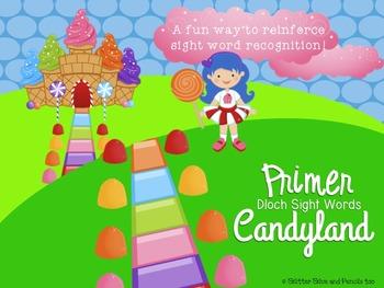 Primer Dolch Sight Word Candyland