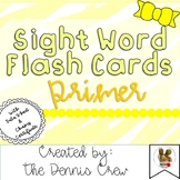 Primer Sight Word Cards