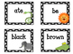 Primer Dolch Sight Word Flashcards. Animals