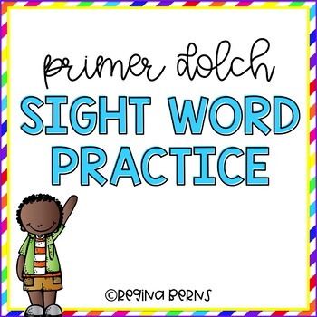 Primer Dolch Sight Word Practice
