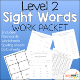 Level 2 Sight Word Work Packet