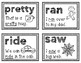 Primer Dolch Sight Words Sentence Flash Cards With CVC Words and Pictures