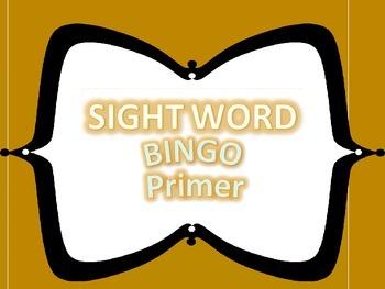 Primer Dolch Word Bingo