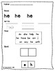 Dolce Sight Word Worksheets - Primer