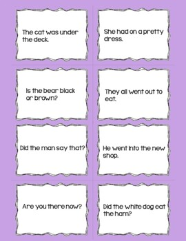 Primer High Frequency Words Reading Fluency Practice Uh-Oh!