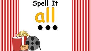 Primer Interactive Popcorn Words