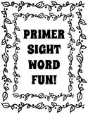 Primer Leaf, Fall Theme Sight Word Fun
