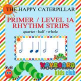 Primer Level 1A Beginner Rhythm Strips Quarter Half Whole