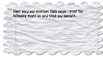 Primer Level Dolch Sight Word Bundle